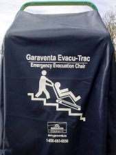 Evacuation chair storage bag